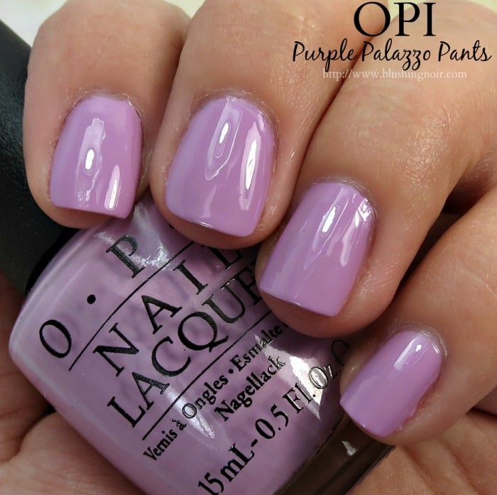 OPI Purple Palazzo Pants Nail Polish Swatches