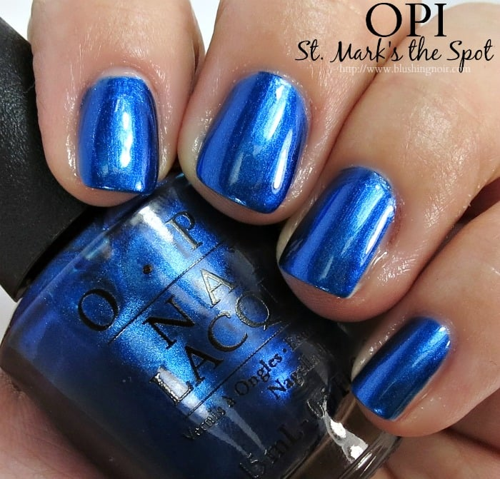 OPI St. Mark's the Spot Nail Polish Swatches