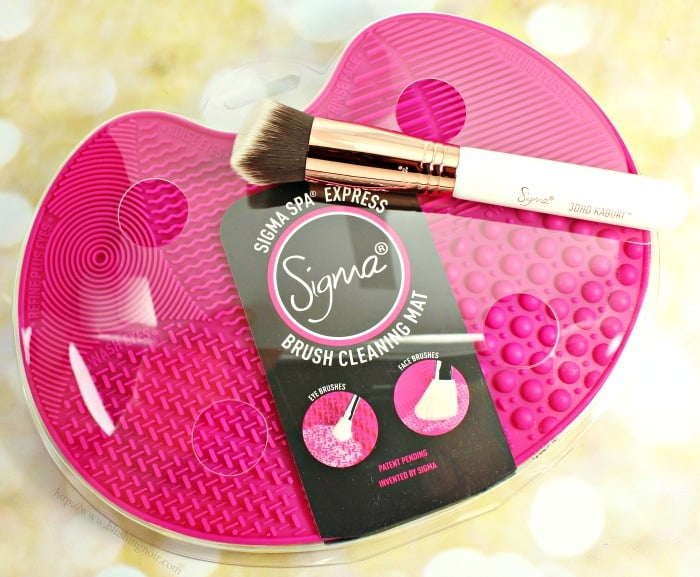 Sigma Spa® Express Brush Cleaning Mat Photos & Review