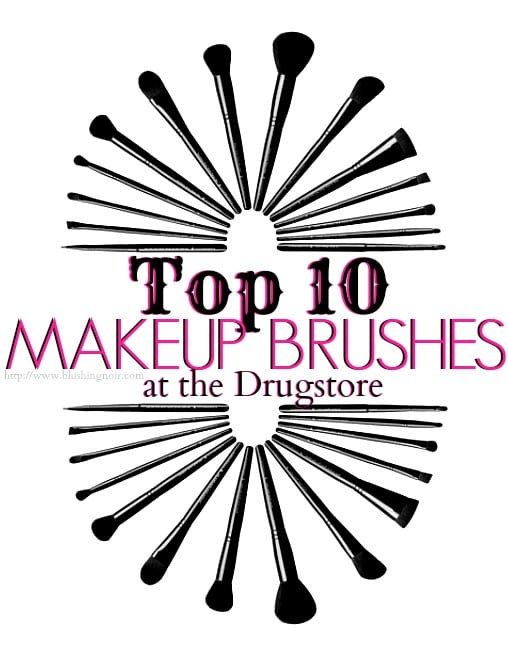 Top 10 Makeup Brushes Under $10