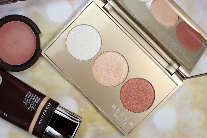 Becca Jaclyn Hill Champagne Pop Palette Swatches Review