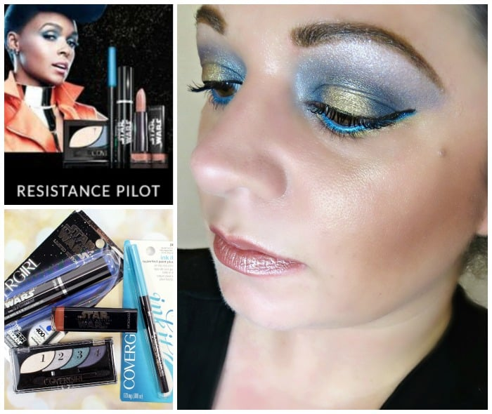 Covergirl Star Wars Makeup Look Resistance Pilot