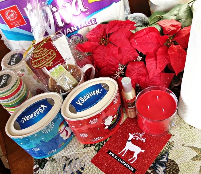 Holiday guest prep basket ideas