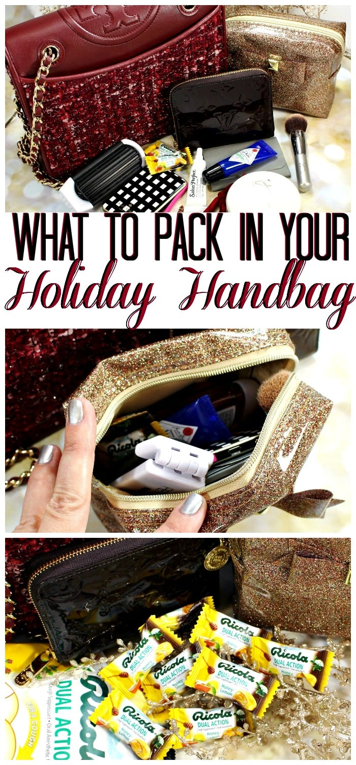How to Pack a Holiday Party Bag Handbag