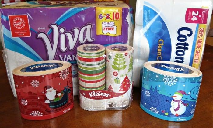 Kimberly Clark at Walmart Viva, Kleenex, Cottonelle