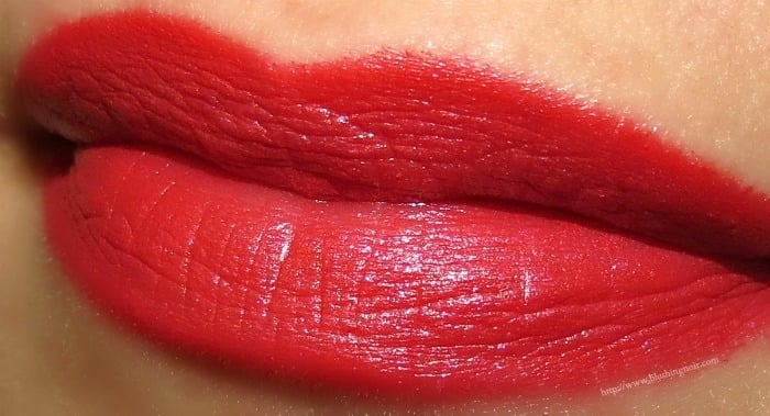 MAC All I Want Von Teese Layered Lipstick