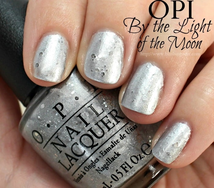 OPI By the Light of the Moon Nail Polish Swatches