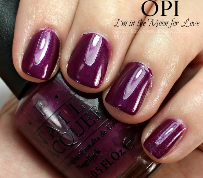 OPI I'm in the Moon for Love Nail Polish Swatches