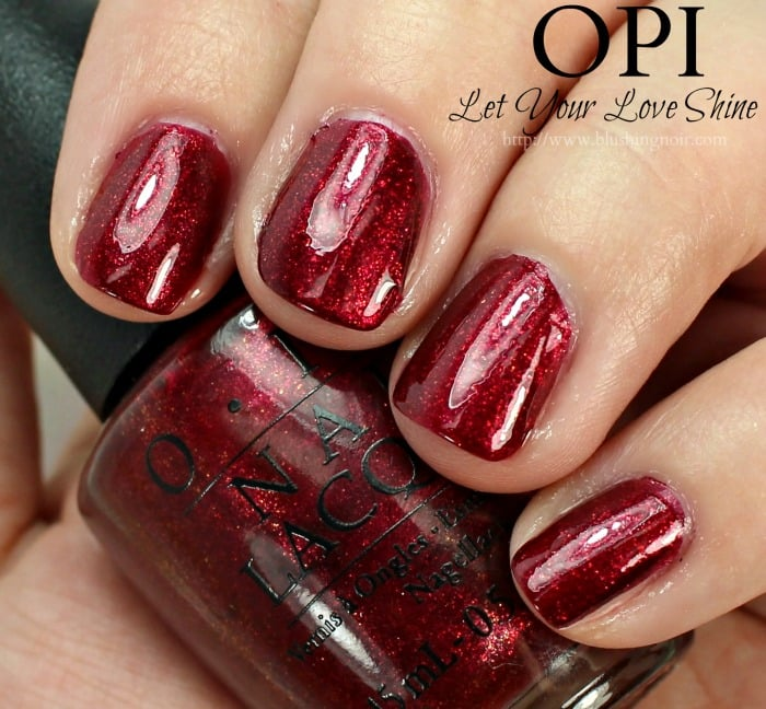 OPI Let Your Love Shine Nail Polish Swatches