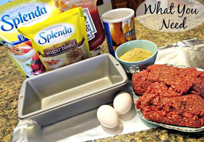 What you need to make meatloaf