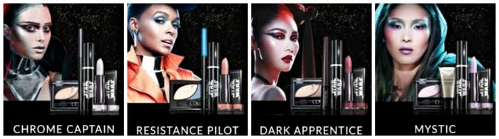covergirl star wars looks