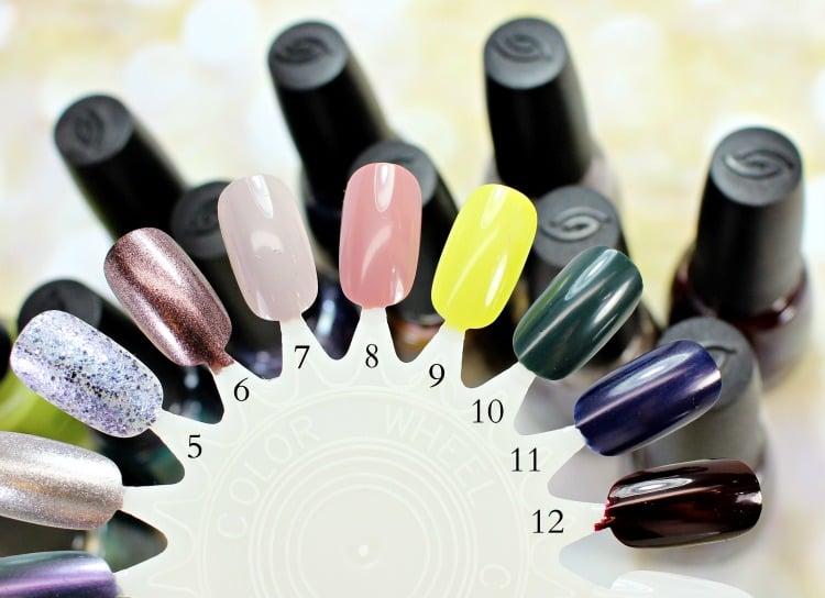 China Glaze The Great Outdoors Nail Polish Swatches review fall 2015 nail wheel
