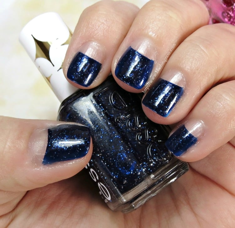 Essie Starry Starry Night & Sequin Sash Nail Polish Swatches, Review + GIVEAWAY!