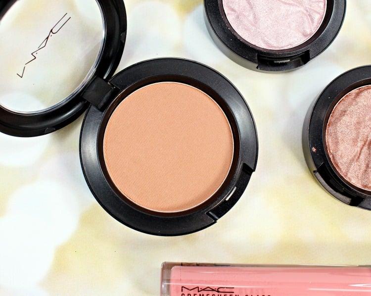 MAC Cheek Pollen Blush Swatches Review