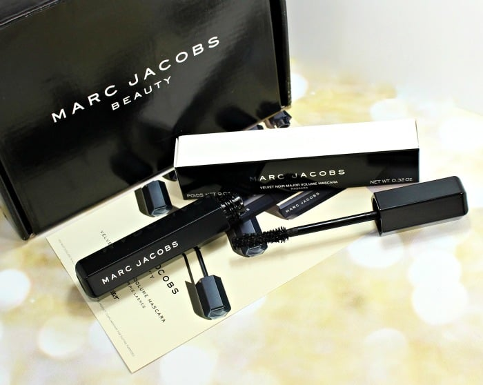 Marc Jacobs Velvet Noir Major Volume Mascara Swatches & Review