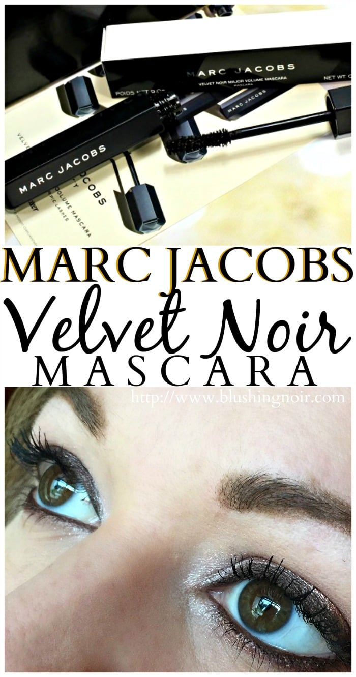 Marc Jacobs Velvet Noir Mascara eye look review