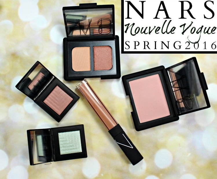NARS Nouvelle Vogue Makeup Collection Swatches Review Spring 2016