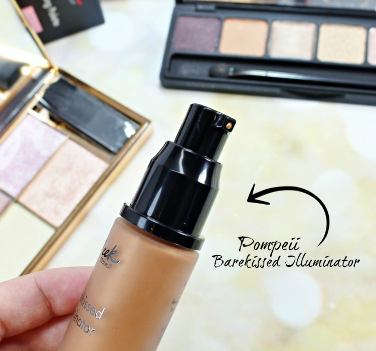 SLEEK Pompeii Barekissed Illuminator swatches
