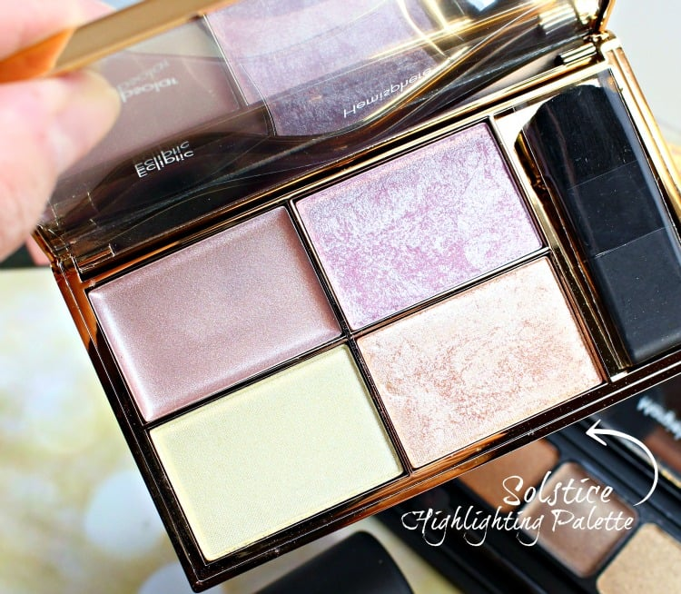 SLEEK Solstice Highlighting Palette swatches