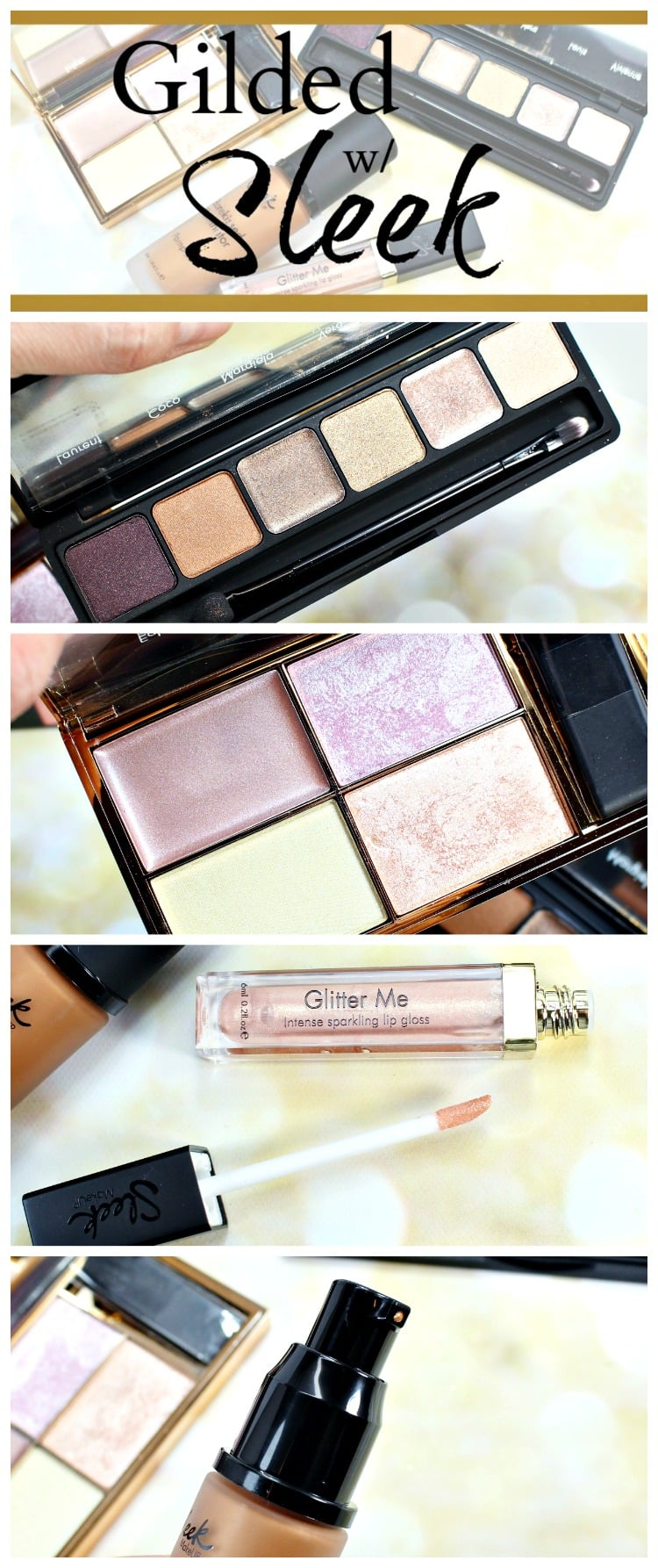 gilded with sleek swatches review