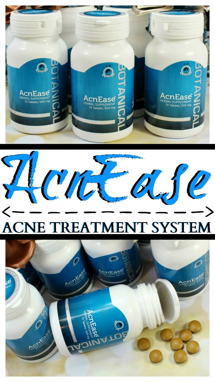 Acnease Herbal Supplement acne treatment review how to get rid of acne