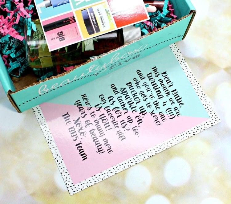 Beauty Box 5 February 2016 Photos