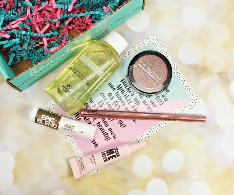 February 2016 BEAUTY BOX 5 Photos, Swatches & Review