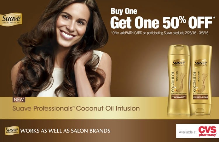 Next Level Hair with Suave Professionals® Coconut Oil Infusion + Giveaway!