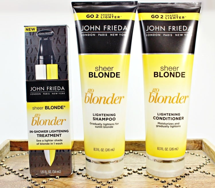 John Frieda go blonder lightening shampoo conditioner review