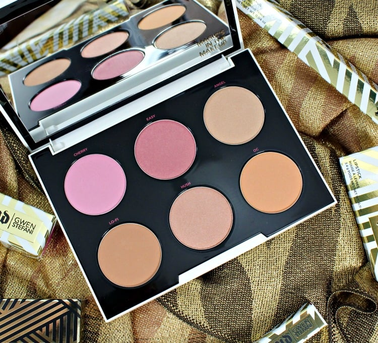 Urban Decay Gwen Stefani Blush Palette swatches photos UD review 2016