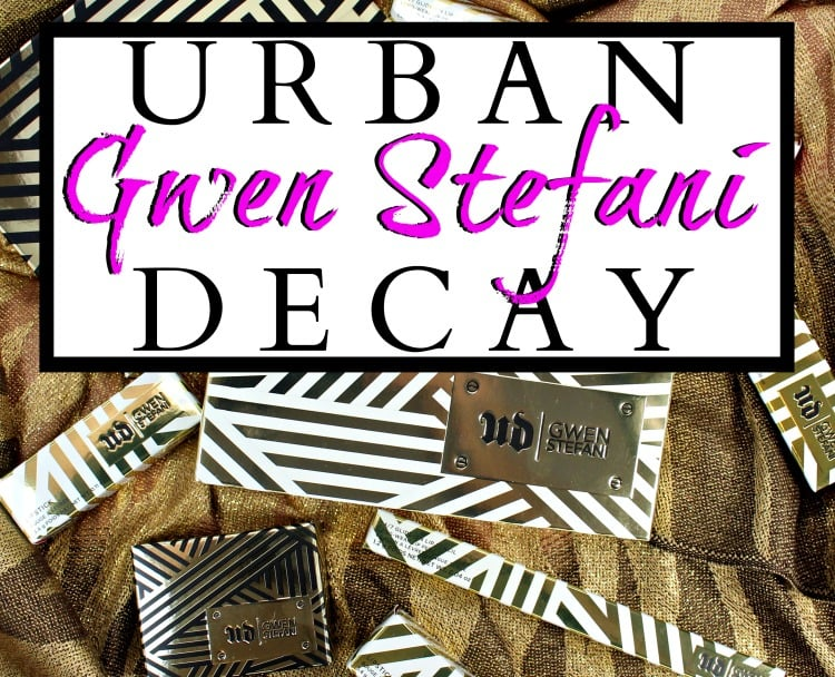 Urban Decay Gwen Stefani Collection Swatches, Review + EOTD