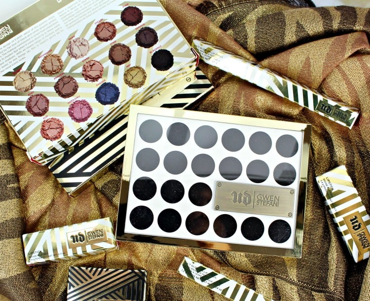 Urban Decay Gwen Stefani Eyeshadow Palette swatches review photos packaging