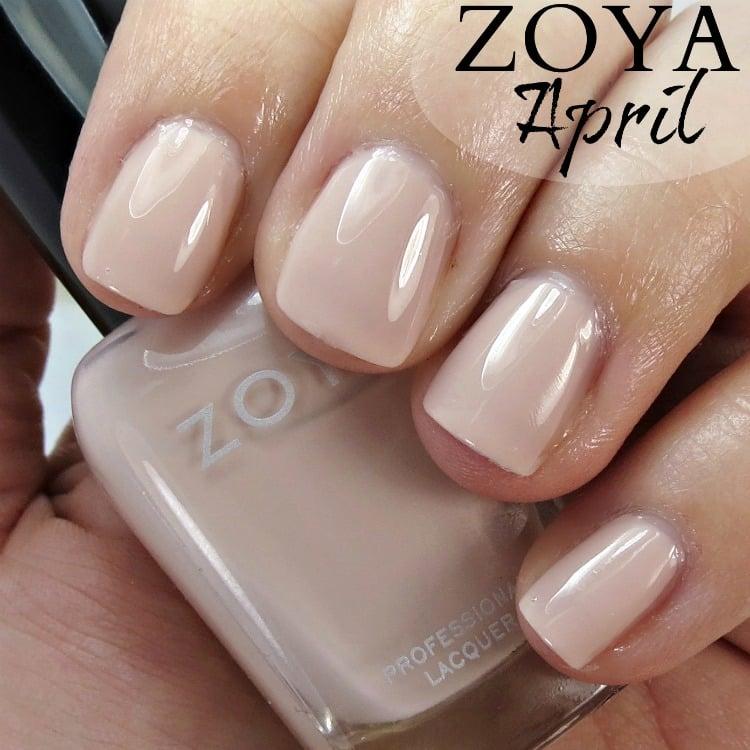 Zoya April Nail Polish Swatches