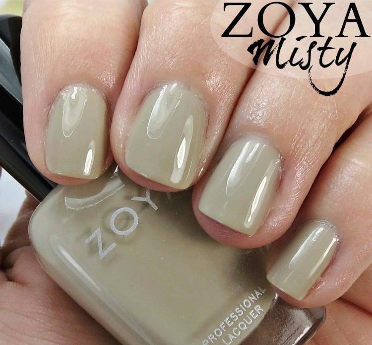 Zoya Misty Nail Polish Swatches