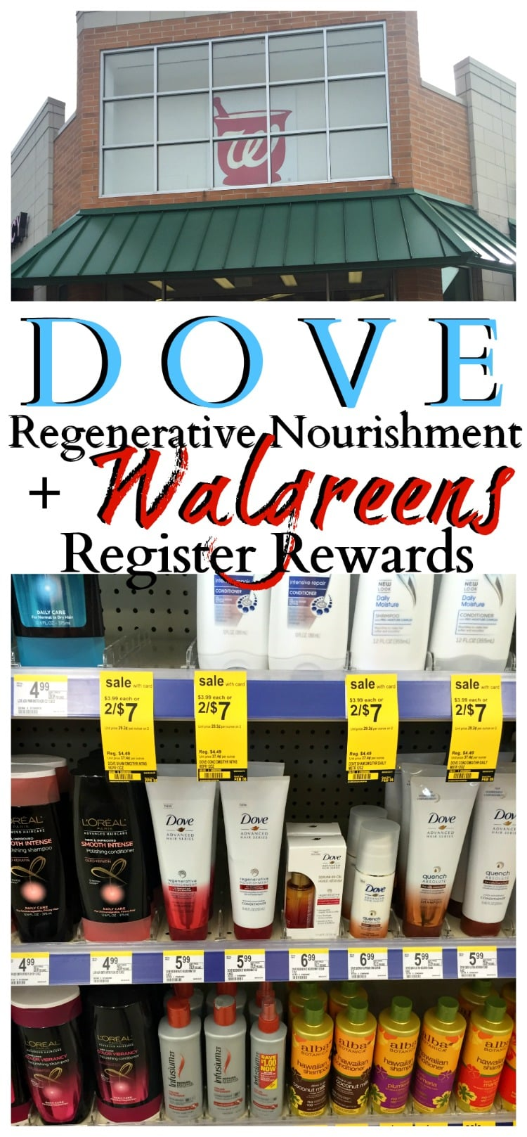 dove walgreens register rewards