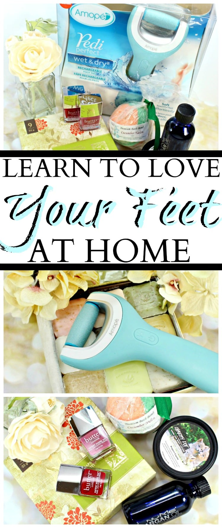 learn to love your feet at home amope
