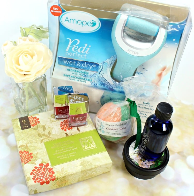 products to do an at home pedicure amope Pedi Perfect Wet & Dry Rechargeable Foot File review