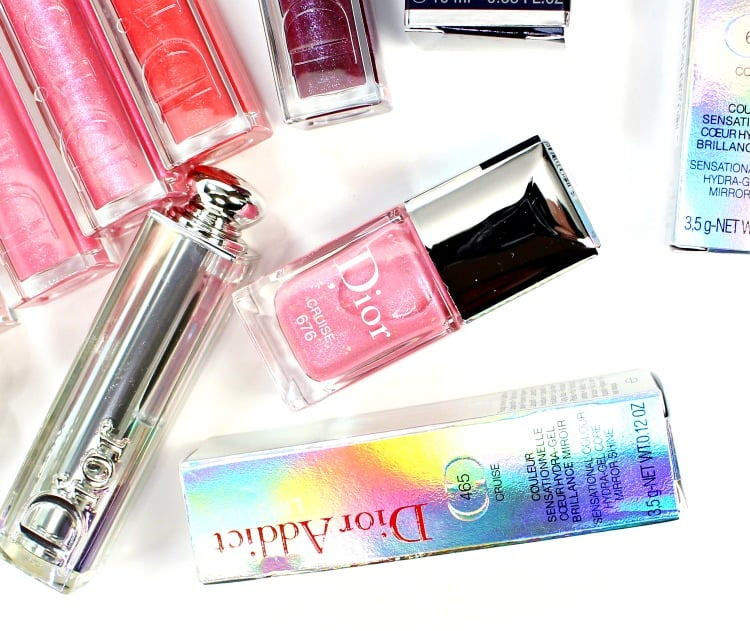 Dior Cruise Vernis Nail polish swatches review