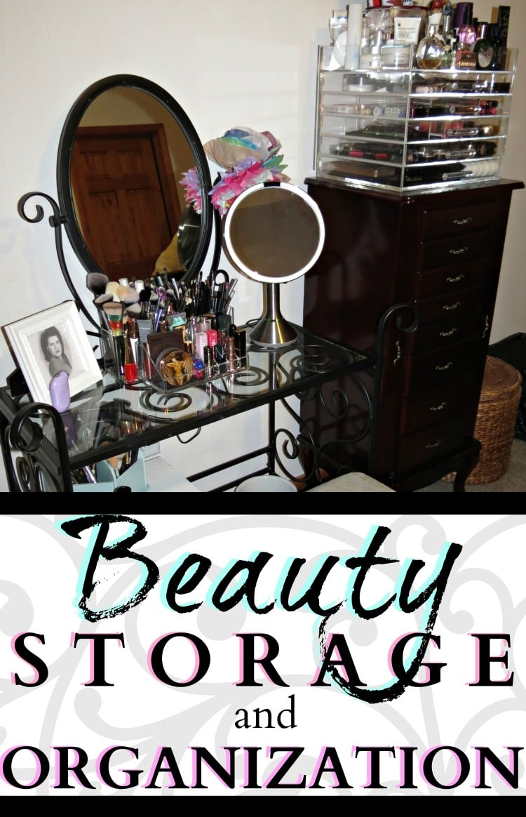 EASY BEAUTY STORAGE MAKEUP ORGANIZATION OPTIONS
