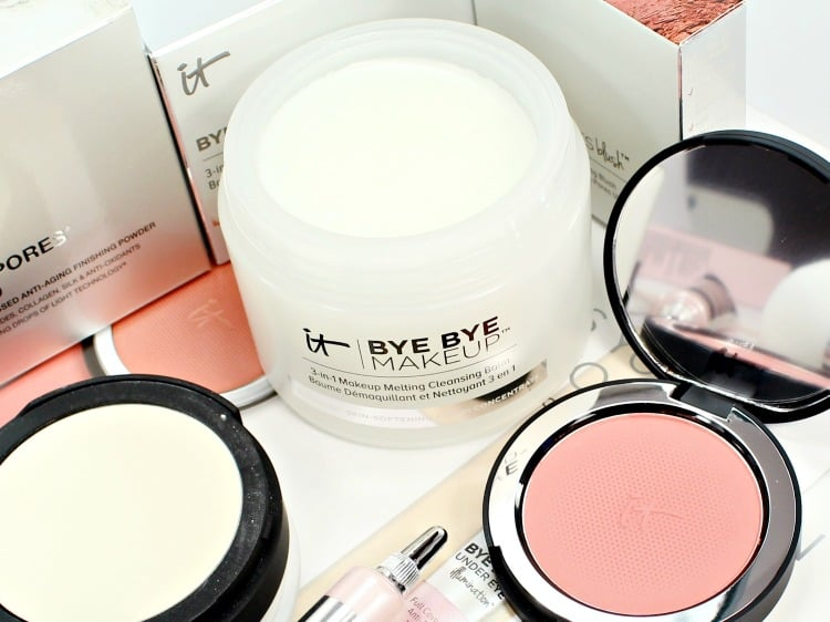 IT Cosmetics Bye Bye Makeup Cleansing Balm makeup remover review