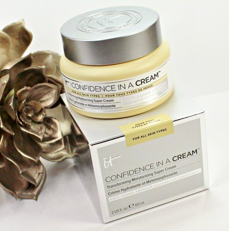 IT Cosmetics Confidence in a Cream moisturizer review skincare