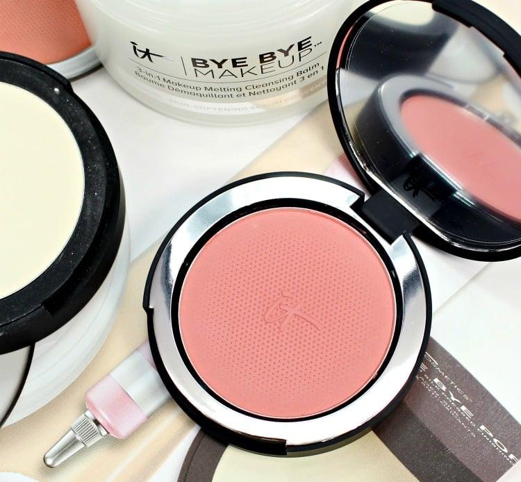 IT Cosmetics Naturally pretty Airbrush brightening blush swatches