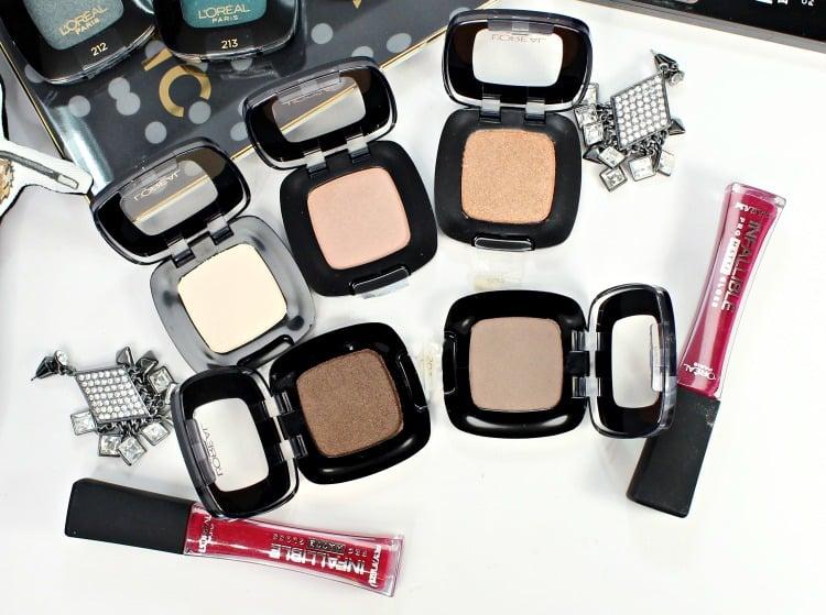 L'Oreal Colour Riche Eye Shadow neutral shades swatches