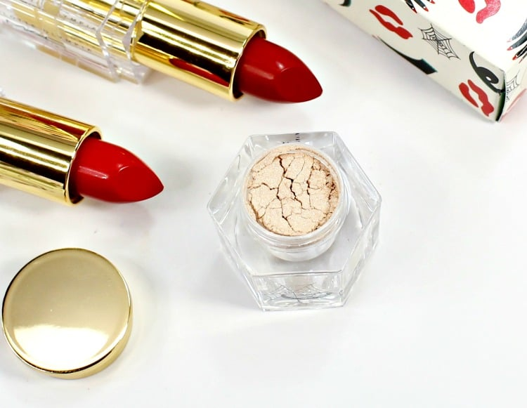 MAC Charlotte Olympia Overdressed Pigment swatches review