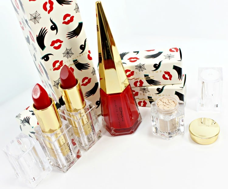 MAC x Charlotte Olympia Makeup Collection Swatches, Review + FOTD