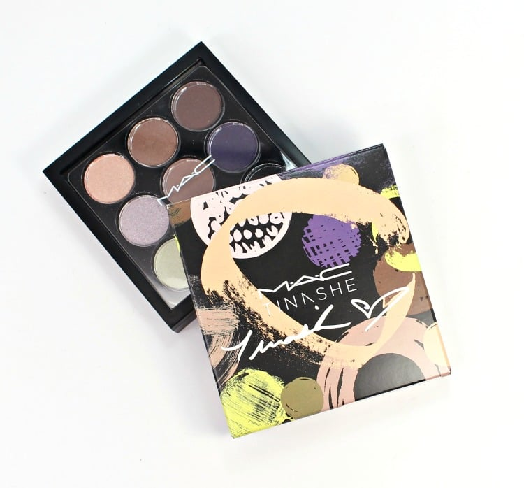 MAC Eyeshadow x 9 Tinashe Palette Fashion Forward photos packaging