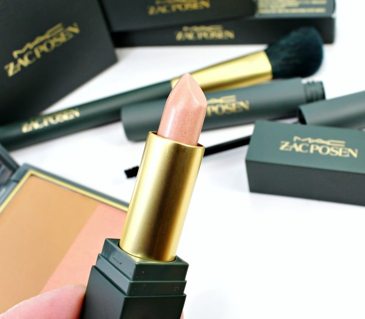 MAC Sheer Madness Lipstick Zac Posen collection swatches review