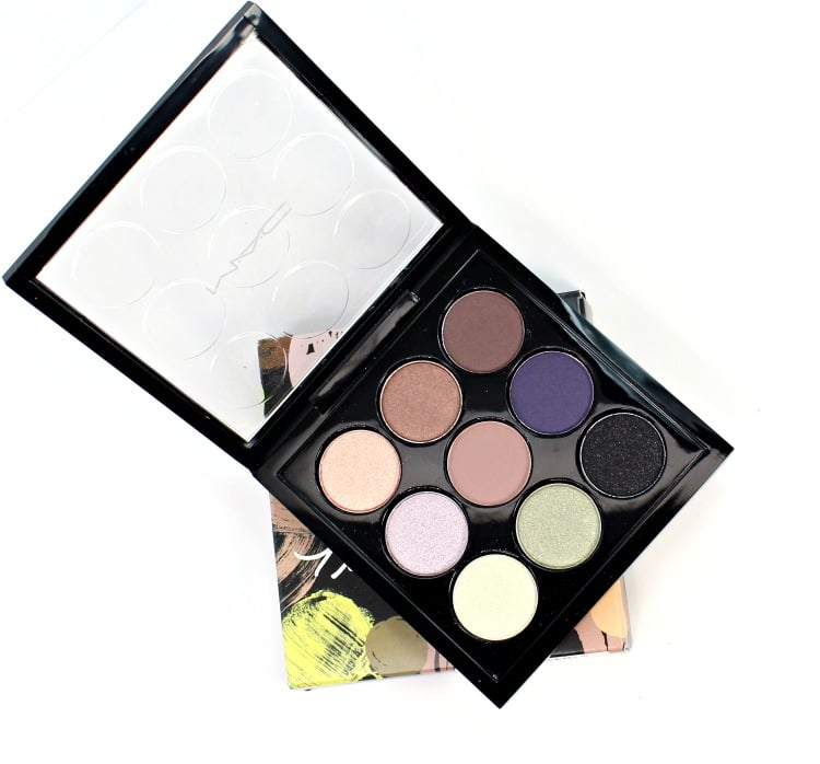 MAC Tinashe Fashion Forward palette swatches eyeshadow x 9 review