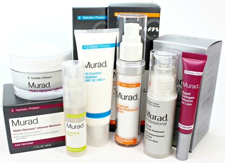 Murad Skincare Favorites review