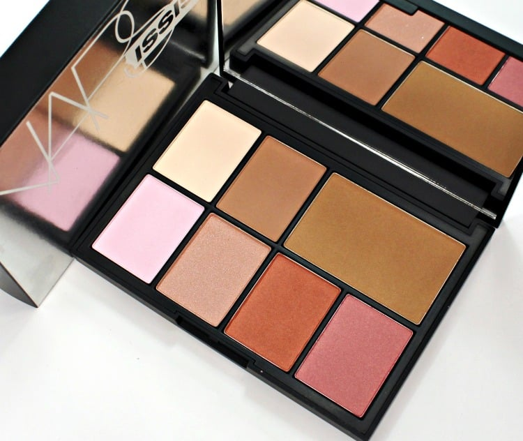 NARS NARSISSIST Cheek Studio Palette swatches review photos